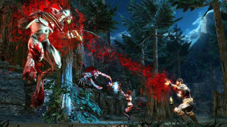 BLOOD KNIGHTS fighting rpg fantasy action vampire sci-fi warrior wallpaper