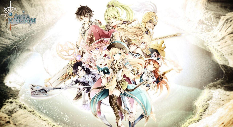 AURA KINGDOM anime mmo rpg online Fantasy adventure 1aking wallpaper