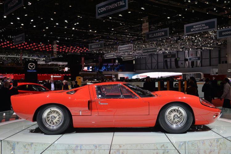 1969 Ford GT40 Mk III classic cars wallpaper