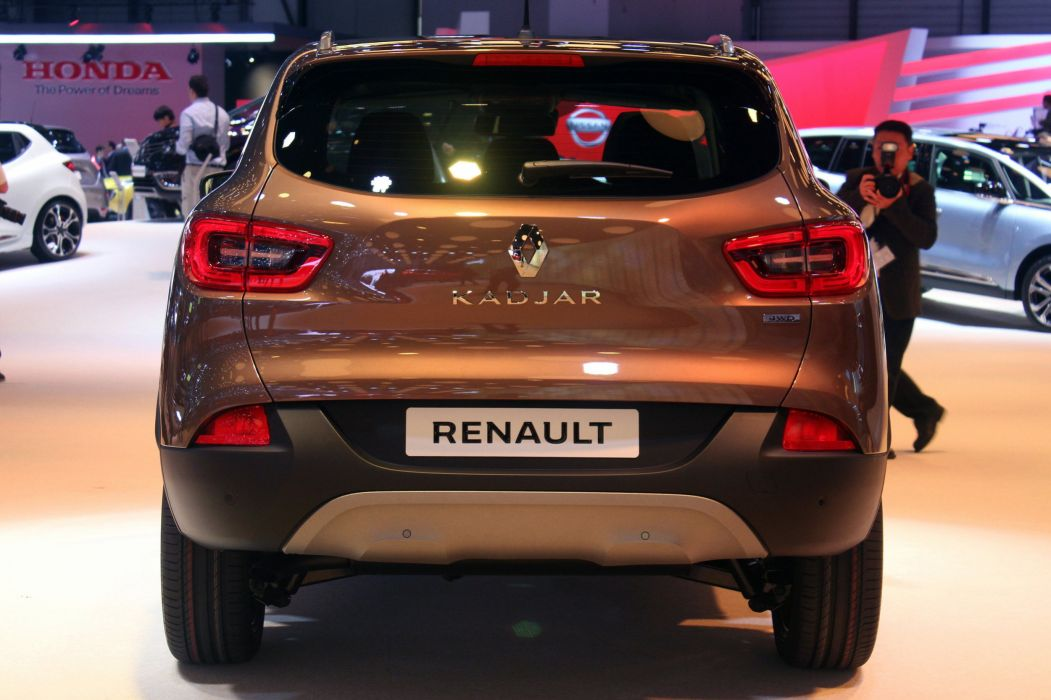 2016 cars french Kadjar renault suv wallpaper