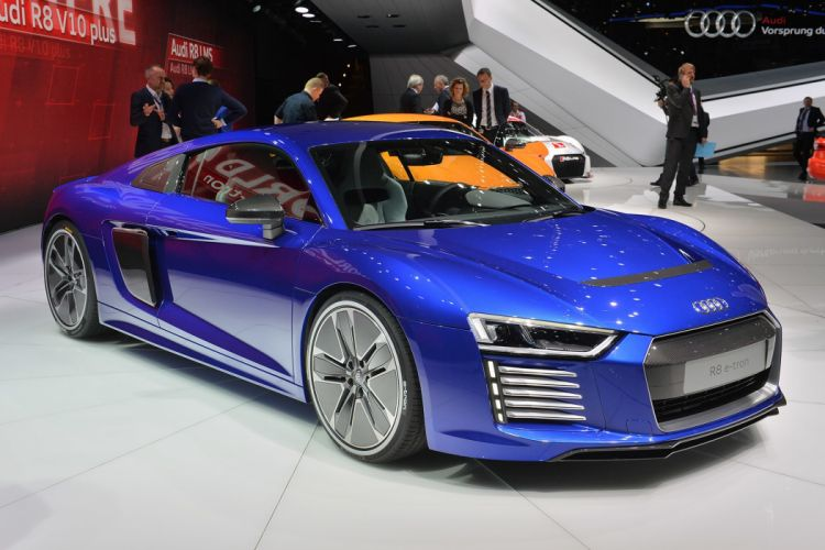 2016 Audi cars Coupe e-tron wallpaper