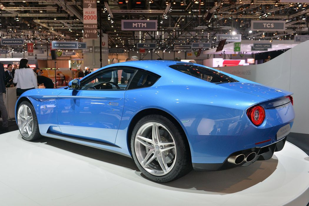 Touring Superleggera Berlinetta Lusso 2015 wallpaper