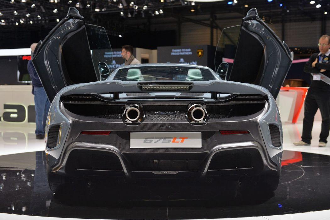 2016 675LT cars Coupe McLaren supercars wallpaper
