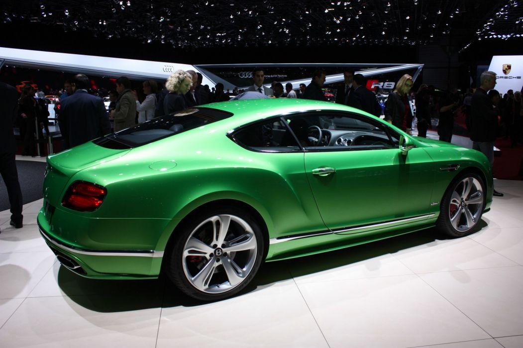 2016 Bentley cars Continental Speed wallpaper