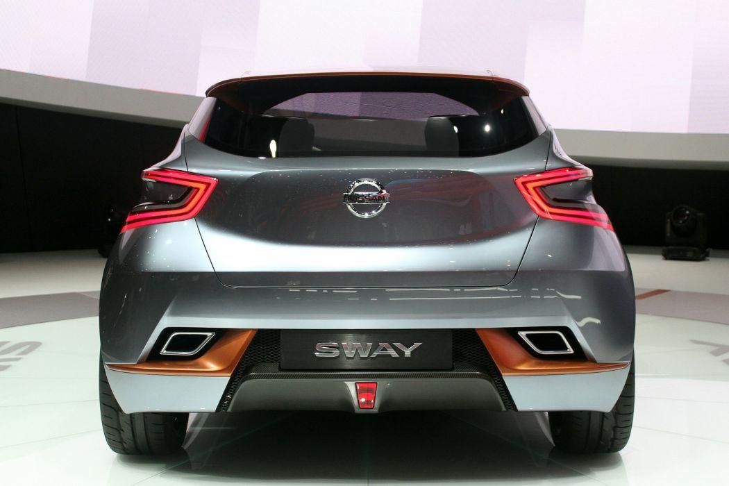 2015 cars Concept Nissan sway wallpaper
