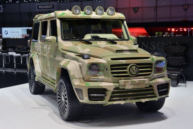 Mansory G63 AMG Sahara Edition mercedes cars off road wallpaper