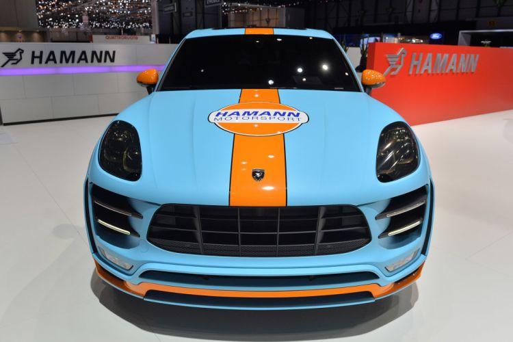 Hamann Porsche Macan S Diesel cars suv tuning 2015 wallpaper