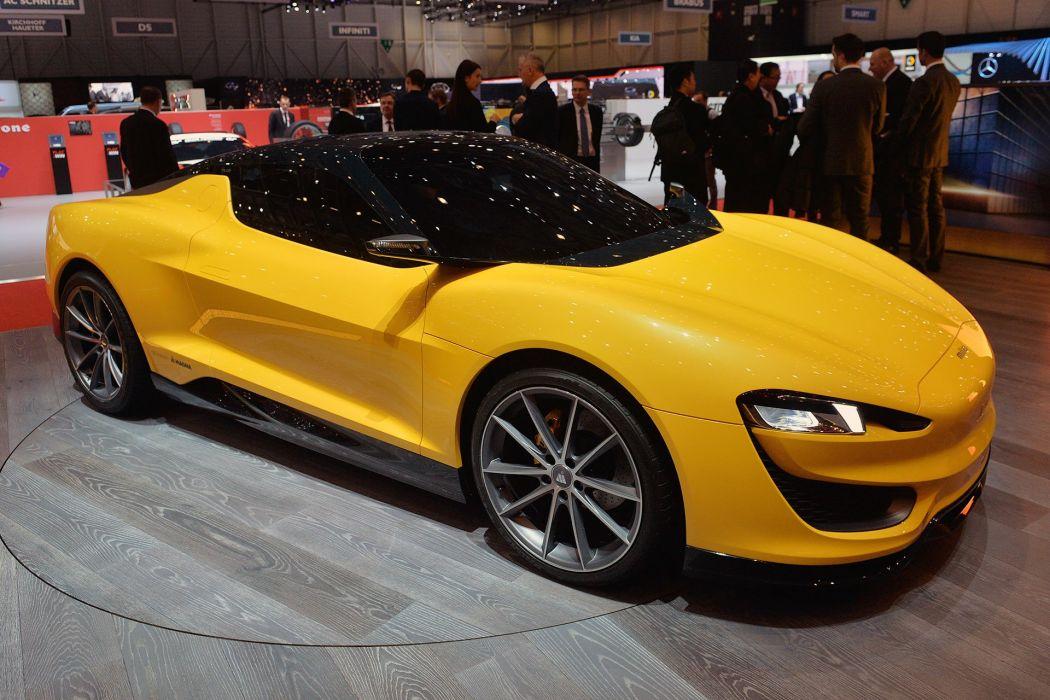 Magna Steyr Mila Plus 2015 cars wallpaper