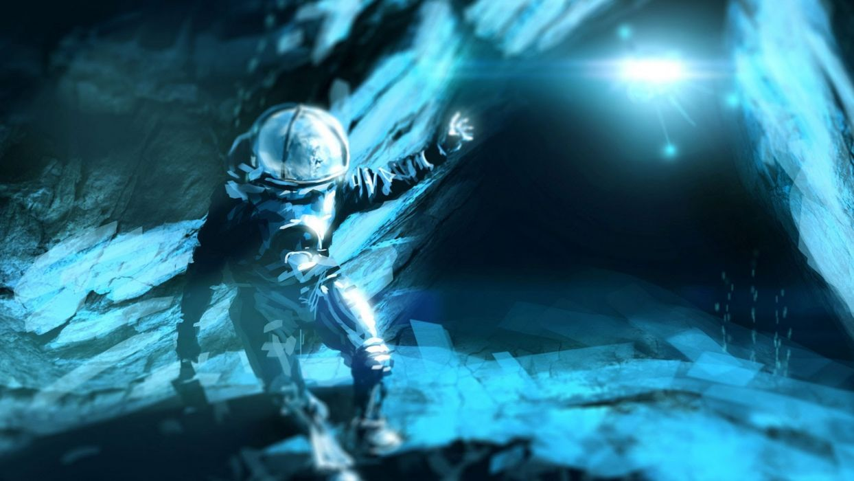 ANOXEMIA exploration sci-fi indie underwater horror diving adventure survival wallpaper