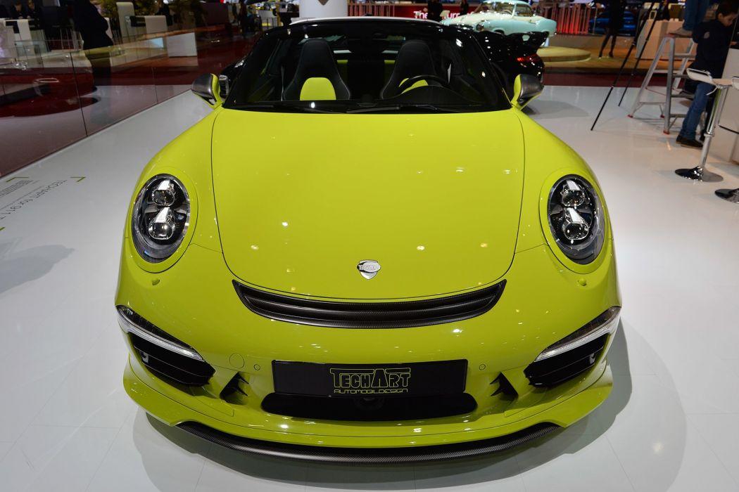 Techart Porsche 911 Targa 4 S cars tuning wallpaper
