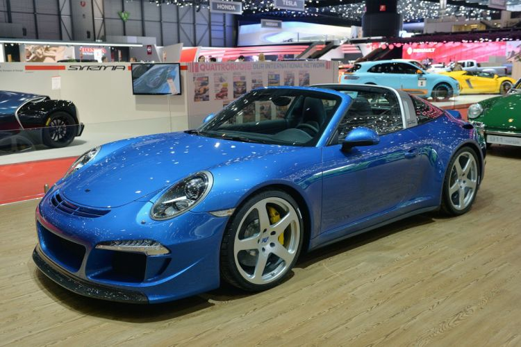 Ruf Turbo Florio porsche 911 targa tuning 2015 wallpaper