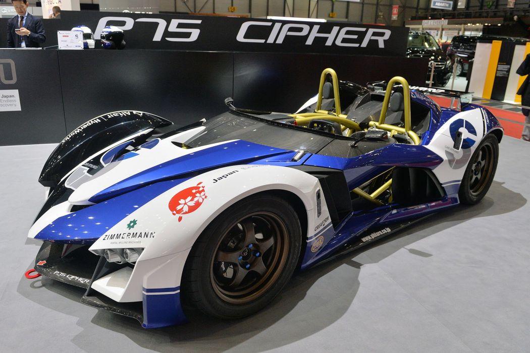 Phiaro P75 Concept CIPHER cars concept 2015 wallpaper