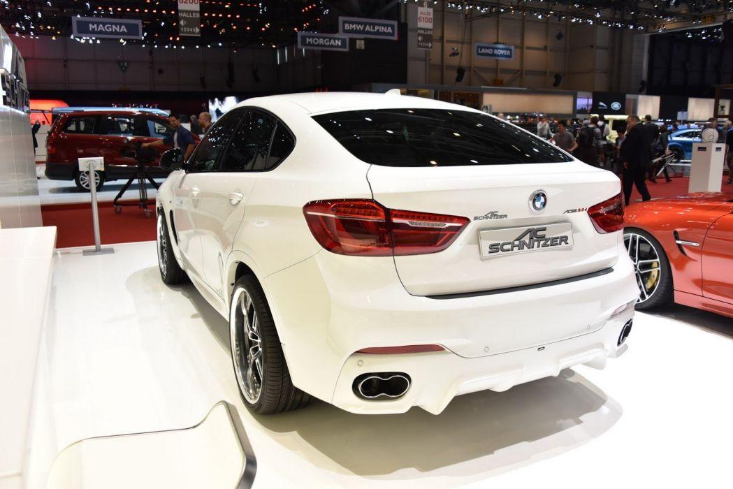 2015 BMW cars schnitzer suv Tuning wallpaper