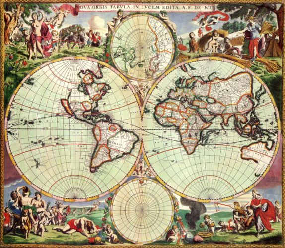 old world map cartography geography d 3100x2700 (43) wallpaper