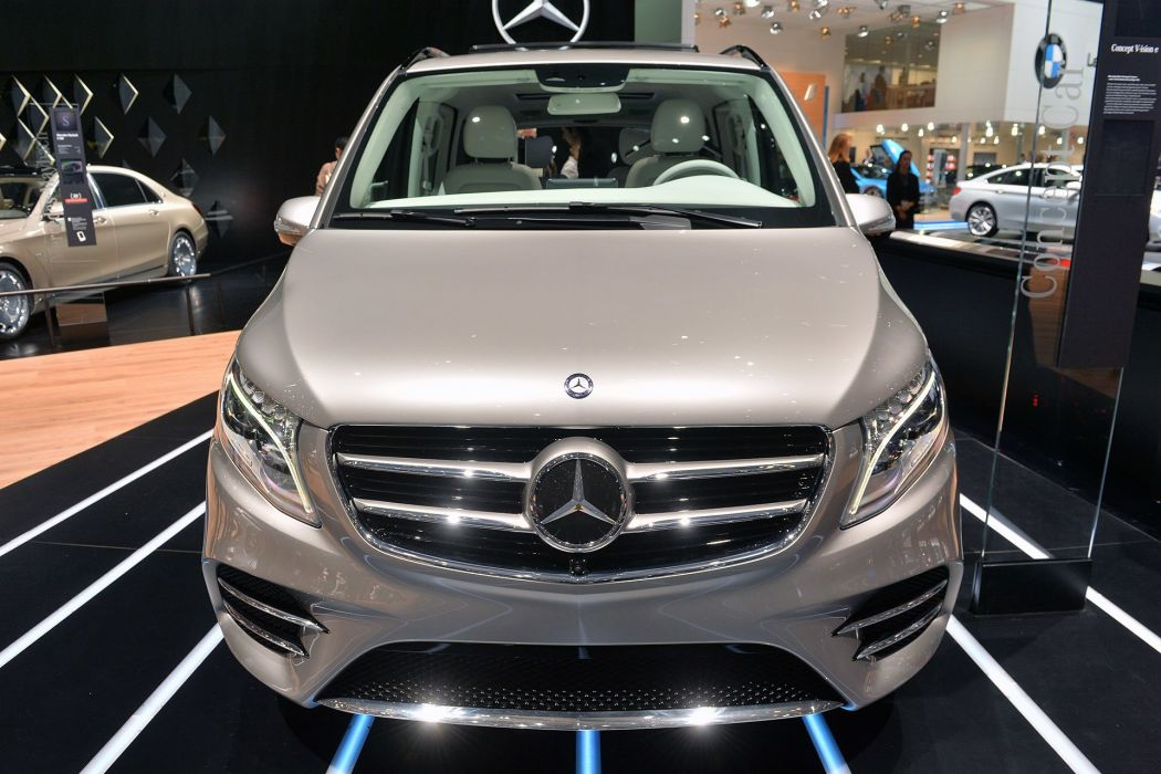 2015 benz cars Concept Mercedes van vision wallpaper