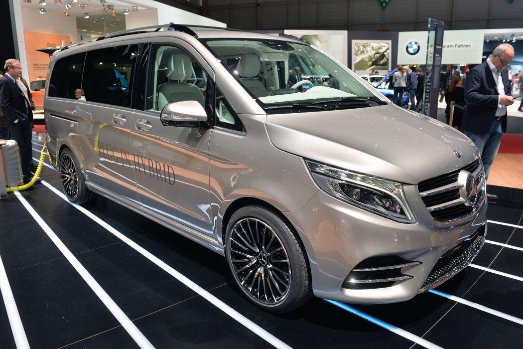 2015 benz cars Concept Mercedes van vision wallpaper