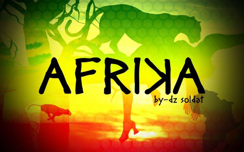 afrika lion africa abstract panter leopard girl wallpaper