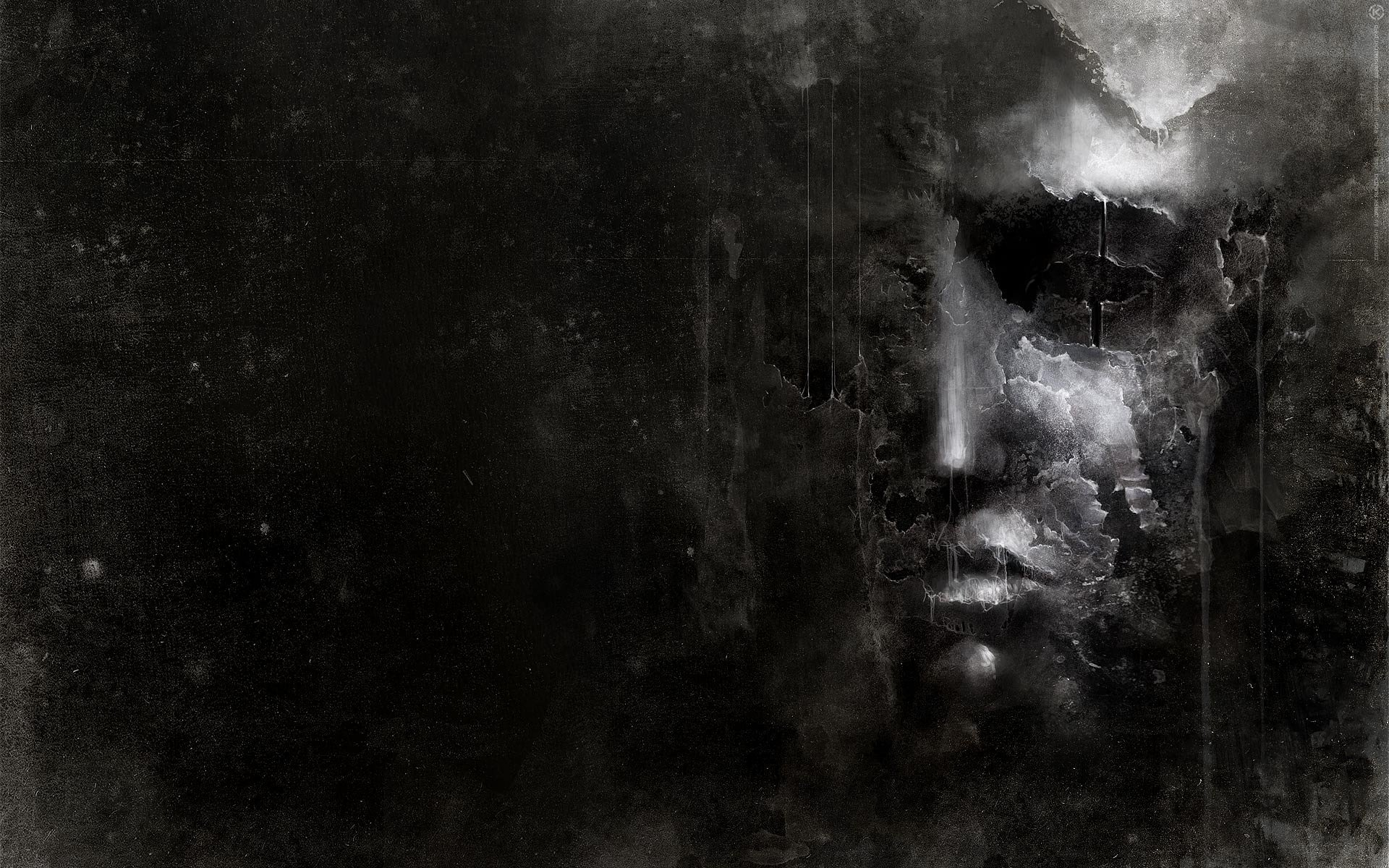 Drawings Sadness And Dark: Dark Face Sad Sorrow Gothic Wallpaper