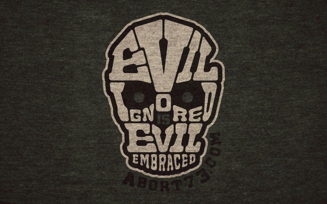dark evil mask skull wallpaper