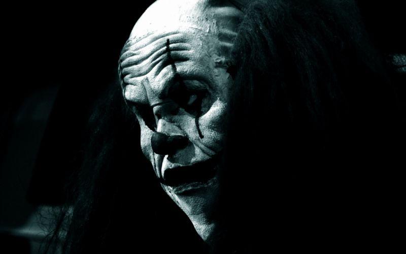 dark clown scary evil wallpaper
