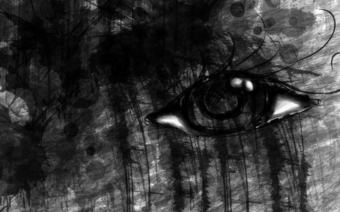 gothic eye eyes evil emo wallpaper