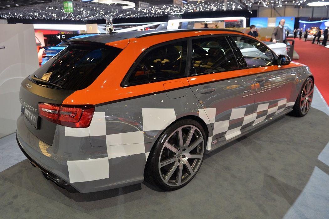 2015 Audi avant cars clubsport mtm RS-6 Tuning wallpaper