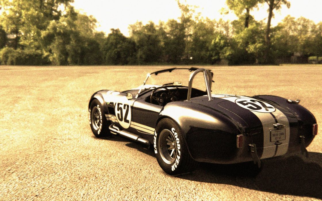shelby cobra vintage wallpaper