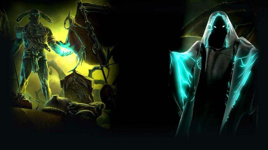 DARK ARCANA CARNIVAL hidden-object adventure supernatural fantasy horror 1dac dark demon reaper wallpaper