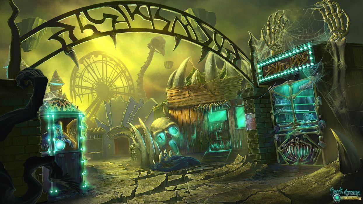 dark arcana carnival hidden object adventure supernatural fantasy