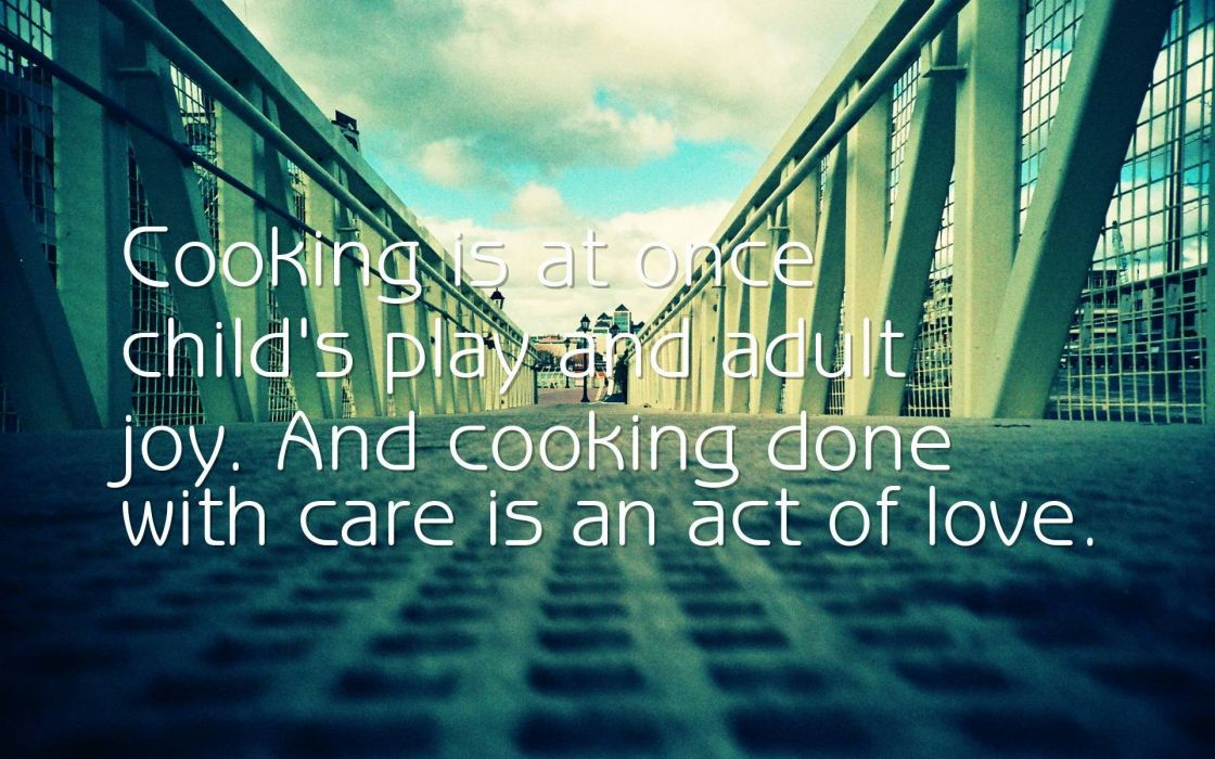 quote text typography love mood cooking wallpaper