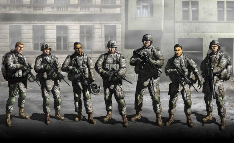 AMERICAS ARMY arcade military platform shooter fps simulation 1aarmy strategy fighting fps war wallpaper