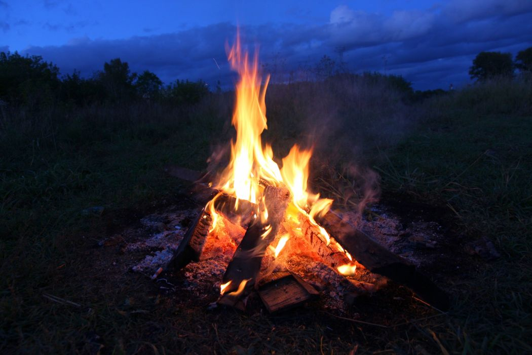 fire stones wood sparks flames s wallpaper