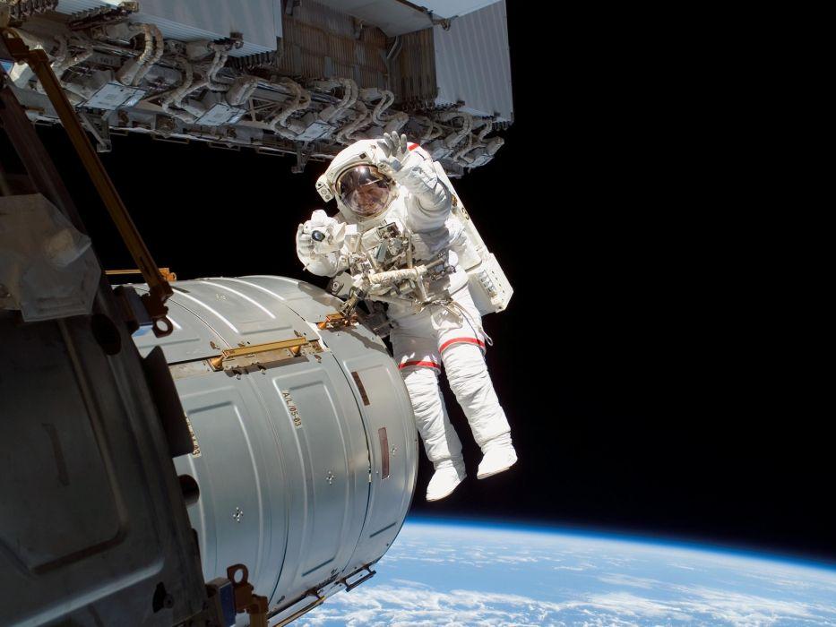 astronaut nasa space sci-fi spaceship station wallpaper