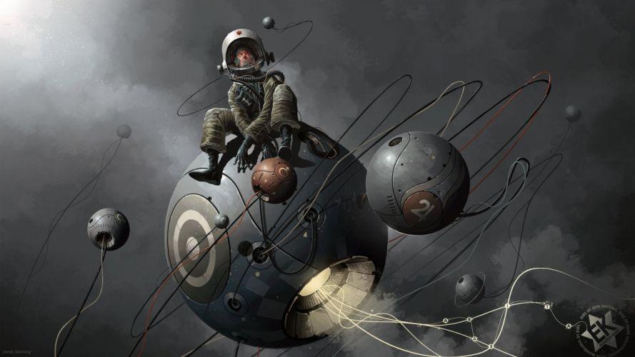 astronaut nasa space sci-fi wallpaper