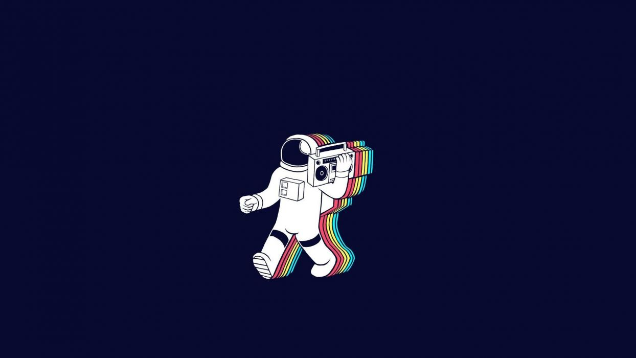 astronaut nasa space sci-fi music mtv radio wtf wallpaper