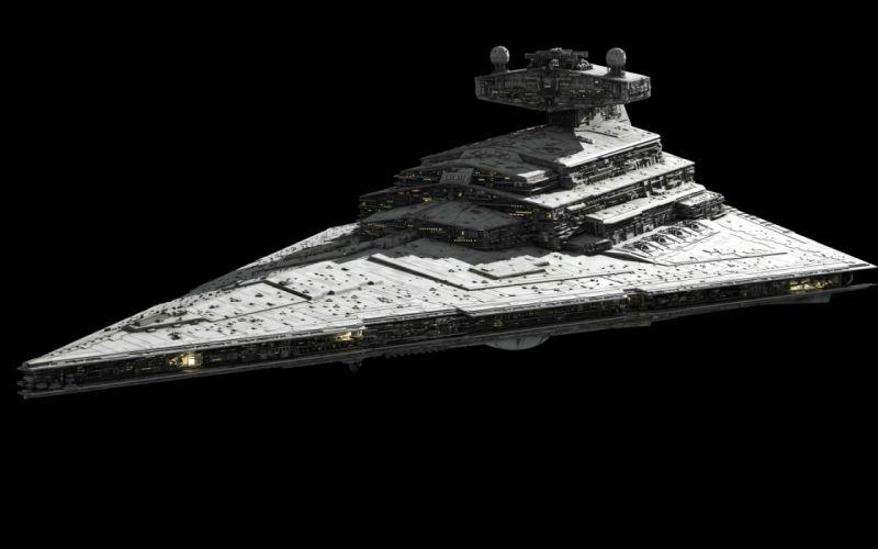 Star Destroyer star wars spaceship sci-fi space wallpaper