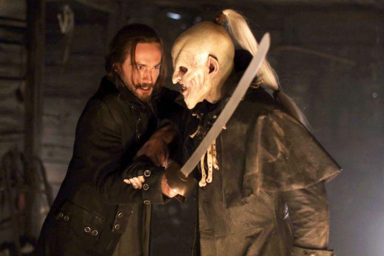 SLEEPY HOLLOW horror series fantasy adventure drama dark demon wallpaper