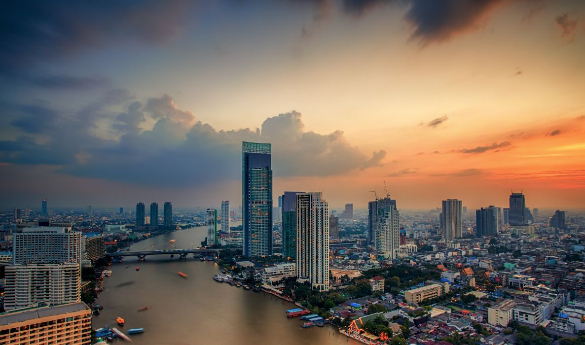 bangkok city Thailand city wallpaper