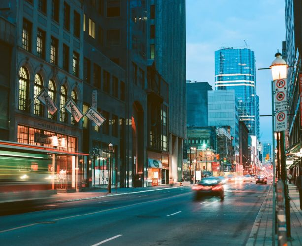 toronto yonge street canada street photography road wallpaper