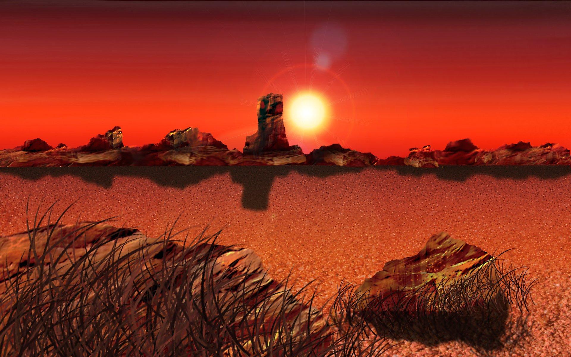 desert landscape wallpaper - photo #33