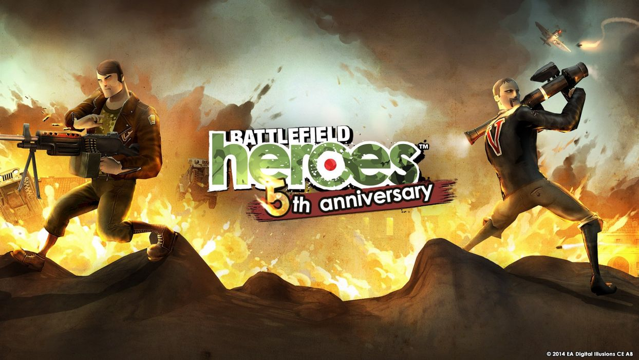Battlefield Heroes Military Tps Shooter Action War 1bheroes