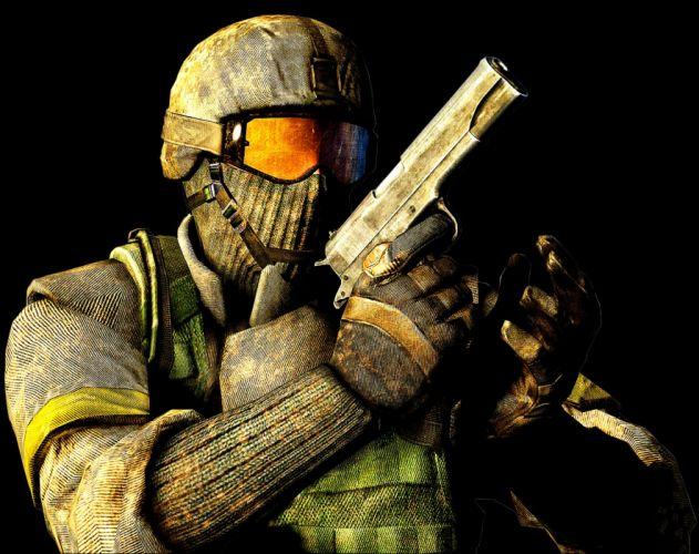BATTLEFIELD HEROES military tps shooter action war 1bheroes sci-fi warrior wallpaper