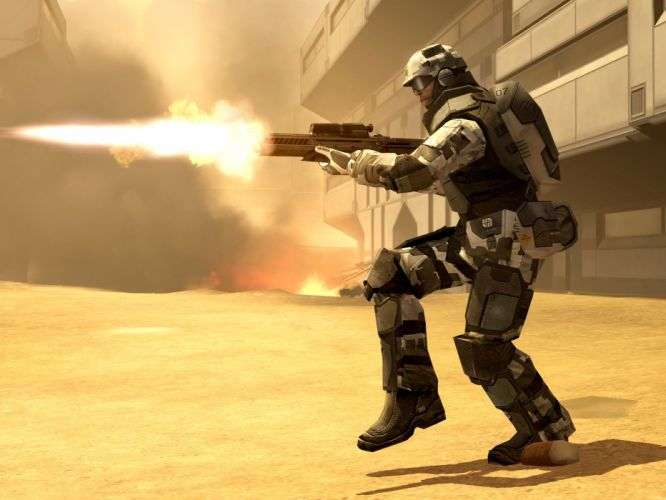 BATTLEFIELD 2142 fps shooter sci-fi online futuristic BF2142 fighting mecha warrior war wallpaper
