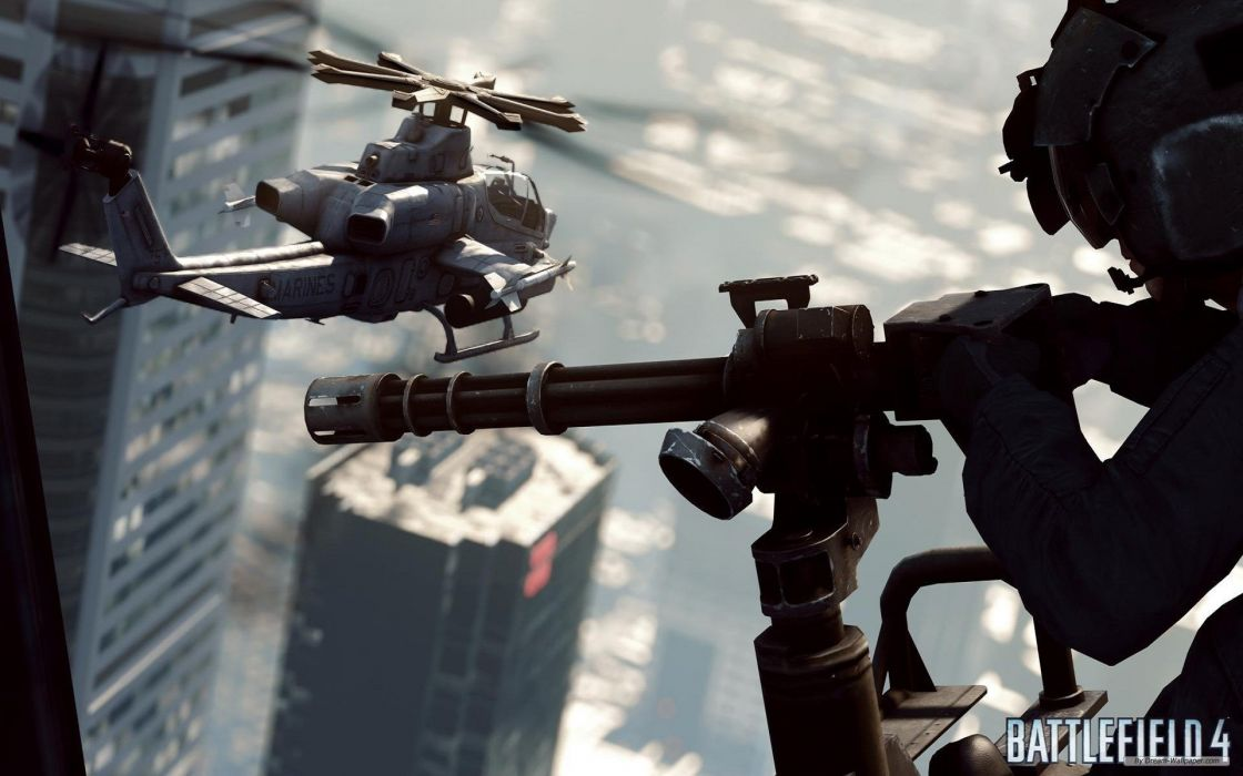 BATTLEFIELD 4 shooter tactical military stealth fighting four action war wallpaper