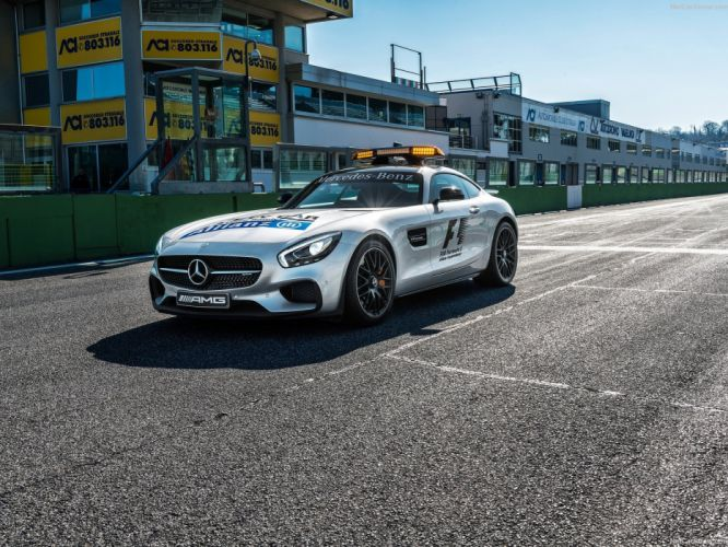 Mercedes Benz AMG GT S Formula one Safety Cars 2015 wallpaper