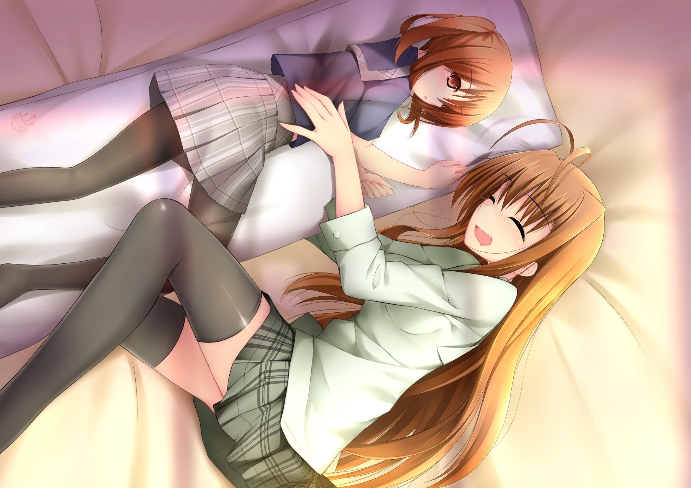 Спящие пары аниме 3 фотография