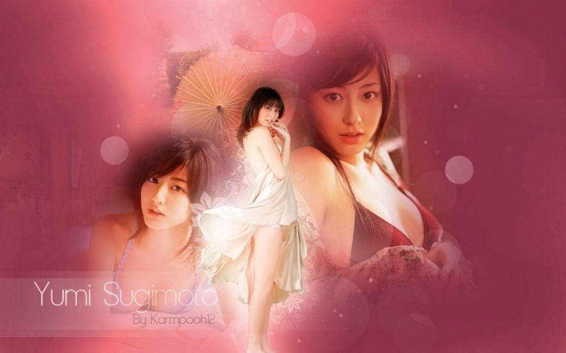 YUMI SUGIMOTO japanese model actress gravure idol singer 1yumi pop j-pop jpop babe wallpaper