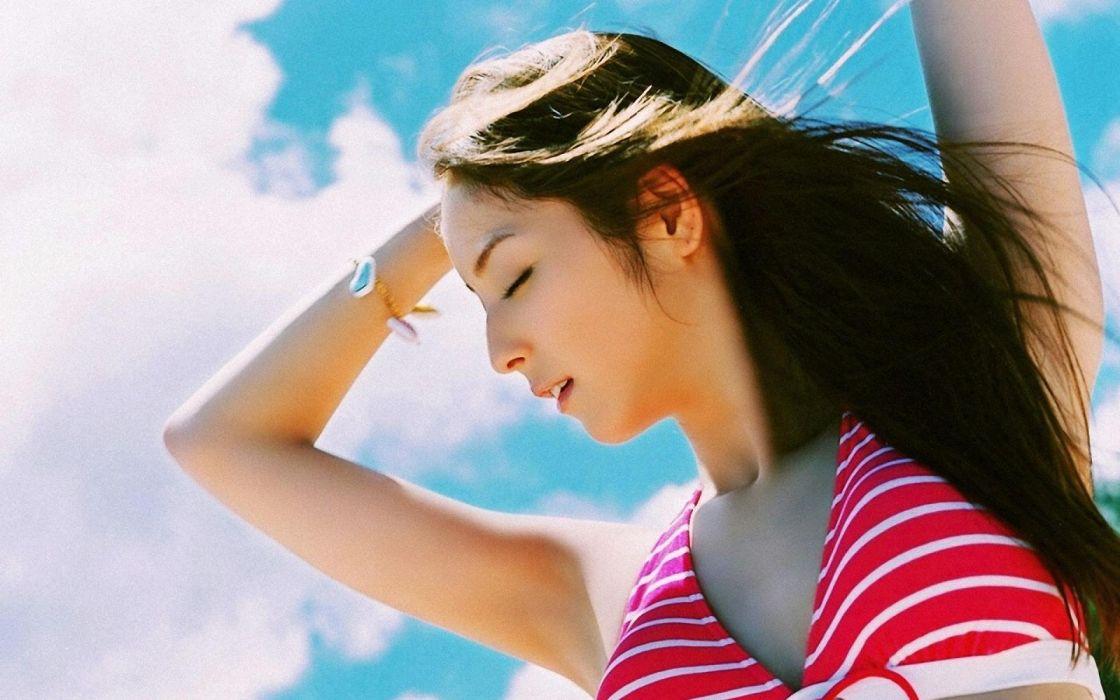 NOZOMI SASAKI fashion model glamour japanese gravure idol actress 1nozomi singer jpop wallpaper