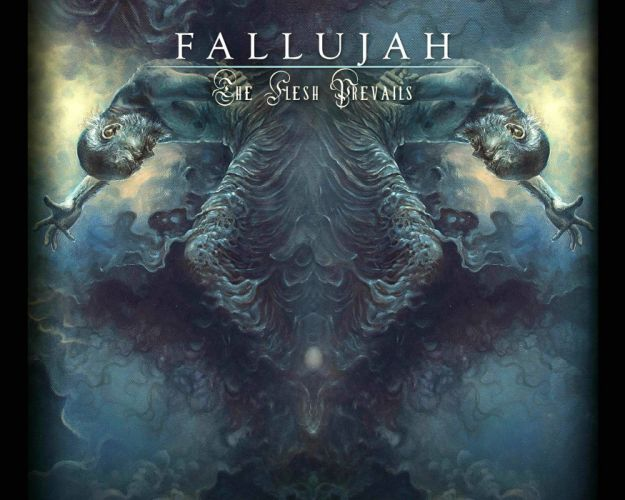 FALLUJAH technical death metal heavy dark evil wallpaper