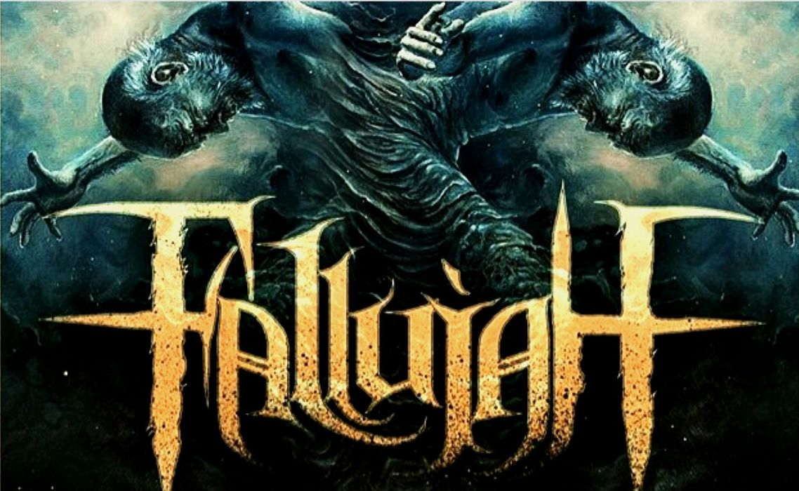 FALLUJAH technical death metal heavy dark evil poster wallpaper
